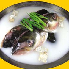 砂锅鳙鱼头的做法