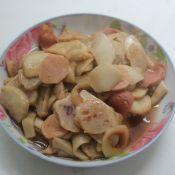 杏鲍菇炒丸子