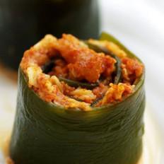 肉糜燕麦海带卷的做法