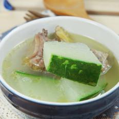 带皮冬瓜煲老鸭的做法