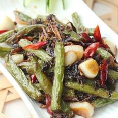 梅干菜干煸豆角的做法