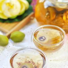 檀香橄榄麦冬绿茶的做法