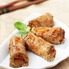 香芋牛肉卷的做法