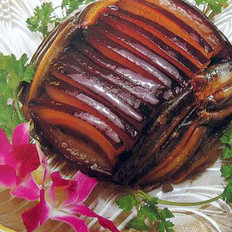 鳅鱼蒸腊肉的做法