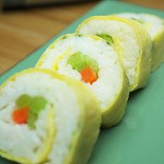 另类寿司的做法