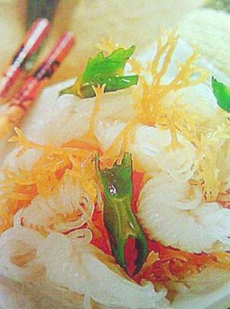 海藻芋丝的做法