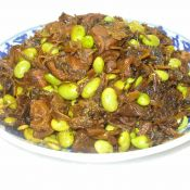 雪菜毛豆烧肉