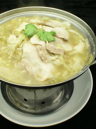东北汆白肉的做法