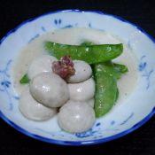 荷兰豆烩白菇的做法