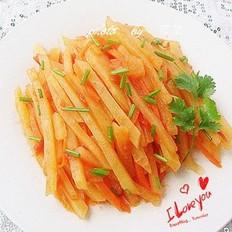 茄汁土豆条的做法