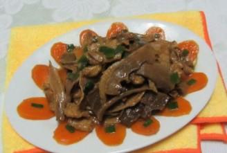 瘦肉炒玉兰片的做法