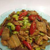 印尼豆饼炒臭豆