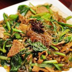小白菜炒粉条