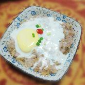 梅菜蒸肉饼窝蛋的做法