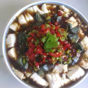 剁椒皮蛋豆腐的做法