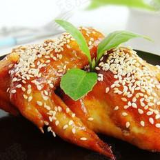 香烤芝香鸡翅的做法