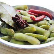 茶香毛豆的做法