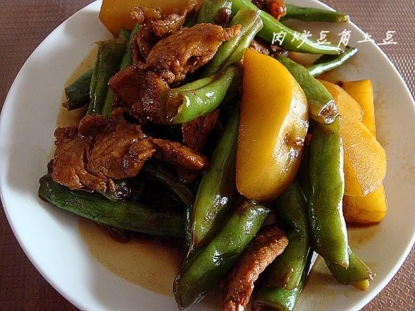 肉炒做法体质的做法_家常肉炒豆角土豆的土豆【图】肉减肥食谱不同豆角图片