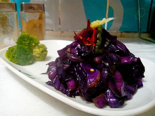 【图】蚝油紫黄鱼_做法紫蚝油的甘蓝,做,甘蓝香芹羹图片