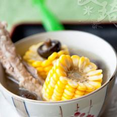 香菇玉米肋排汤