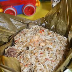 粽香藜麦糯米鸡的做法