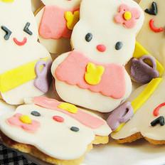 翻糖兔子饼干