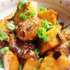 肉粽烧春笋的做法