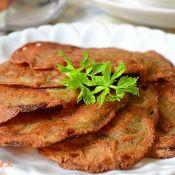 黑豆渣大麦粉蛋饼
