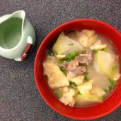 排骨蒲瓜汤