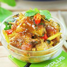 香茅咖喱鸡翅的做法
