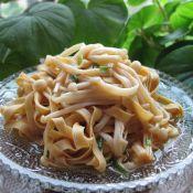 凉拌金针菇百叶丝的做法
