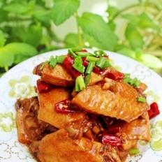 香辣吮手鸡翅的做法