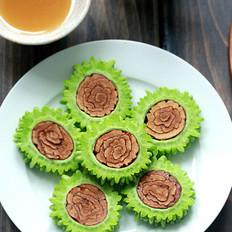 红枣蜂蜜酿苦瓜的做法
