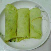 鹅蛋饼卷黄瓜