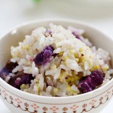 奶香二米饭的做法