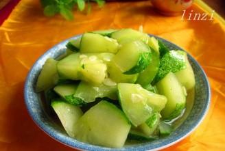 清炒秋黄瓜的做法