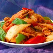 韩式辣白菜炒肉的做法
