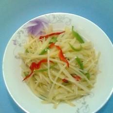 土豆青椒丝