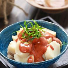 红腐乳淋杏鲍菇