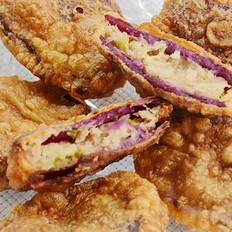 香炸紫薯夹的做法