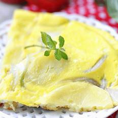 奶香土豆蛋饼的做法