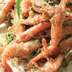 避风塘加拿大北极虾的做法