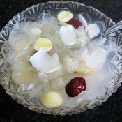 百合莲子银耳糖水的做法