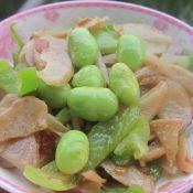 毛豆青椒萝卜干