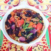 鲍汁鲜蘑炒时蔬