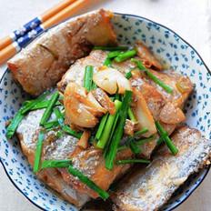 韭菜烧带鱼的做法