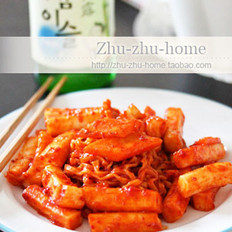 韩国炒米条