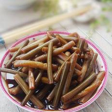 腌糖醋蒜苔的做法