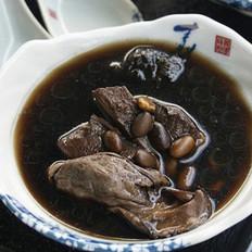 黑豆冬蚝生地汤的做法