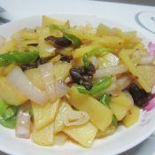 土豆洋葱炒肉的做法